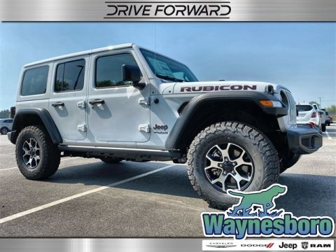 New 2020 JEEP Wrangler Unlimited Rubicon 4x4 Sport Utility