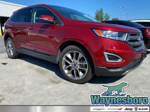 Pre-Owned 2017 Ford Edge Titanium AWD 4D Sport Utility